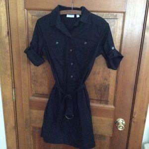 New York & Company Black 3/4 sleeve dress size 2